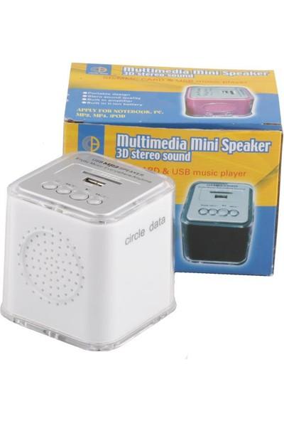 Circle Data Ps620 Usb+Sd Şarjlı Portatif Speaker
