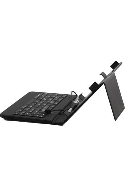 "Teknofis Pk-007B 7"" Deri Tablet Kılıfı Q-Tr"