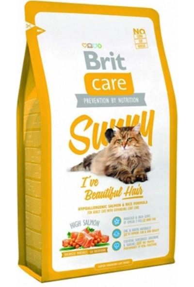 Brit Care Cat Sunny Beatiful Hair Güzel Tüyler İçin Kedi Maması 2 Kg