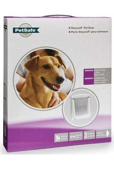 Pet Safe Staywell 740 Ef Orjinal 2 Yönlü Pet Kapisi Medium- Beyaz