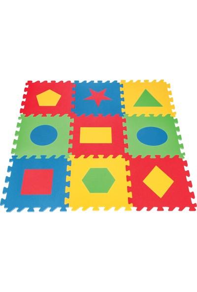 Pilsan Eğitici Polietilen Oyun Matı - Geometrik Şekiller