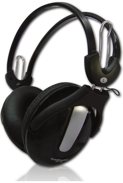 Goldmaster HP-43 Kulaküstü 2.3 Metre Kablolu Mikrofonlu PC Kulaklık