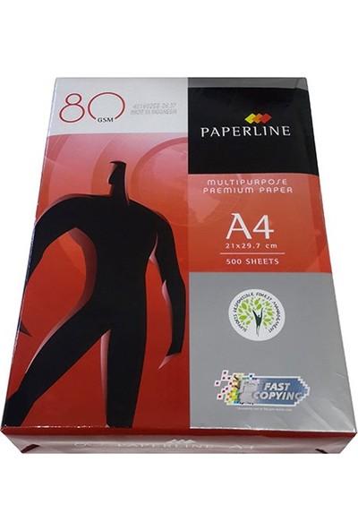 Paperline A4 Fotokopi Kağıdı 80 Gr/m² 500 Ad/Pk.