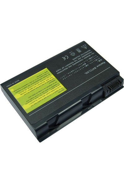 Retro Acer Aspire 9010, 9100, Travelmate 290, Batcl50L4 Notebook Bataryası