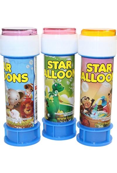 Tahtakale Toptancısı Köpüklü Üflemeli Baloncuk Star Alloons (5 Adet)