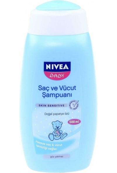 Nıvea Baby Saç Ve Vüc.Şamp 500Ml