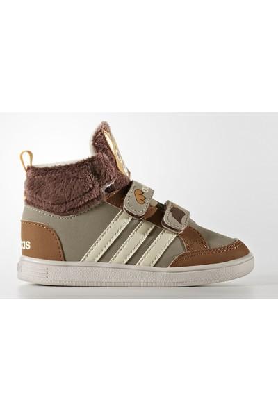 adidas Ayakkabı Hoops Animal Cmf Mid Inf AW5164