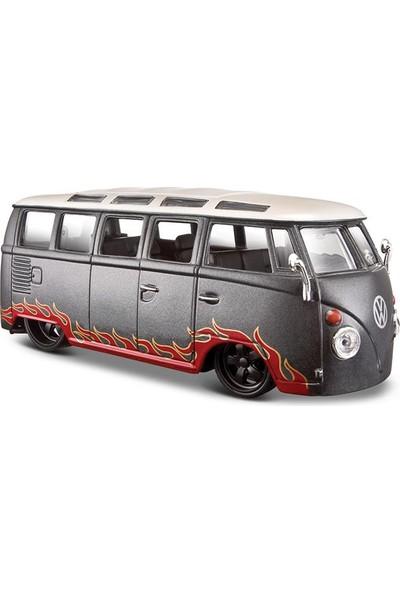 """Maisto 1:25 Volkswagen Van """"Samba"""" Model Araba"""
