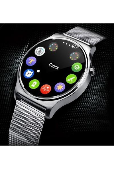 APPScomm C9 Elegant Akıllı Saat Gümüş