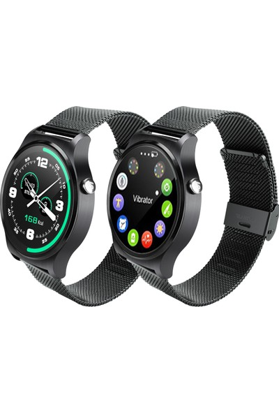 APPScomm C9 Elegant Akıllı Saat Siyah