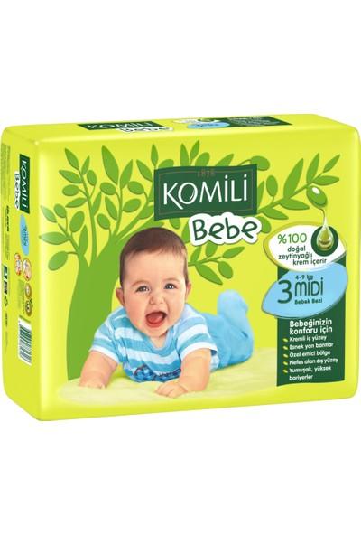 Komili Bebe Bebek Bezi 3 Beden 34 Adet