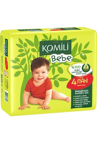 Komili Bebe Bebek Bezi 4 Beden İkiz Paket 30 Adet