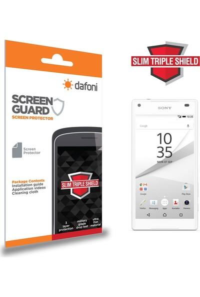 Dafoni Sony Xperia Z5 Compact Slim Triple Shield Ekran Koruyucu