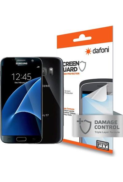 Dafoni Samsung Galaxy S7 Ön + Arka Darbe Emici Full Ekran Koruyucu Film
