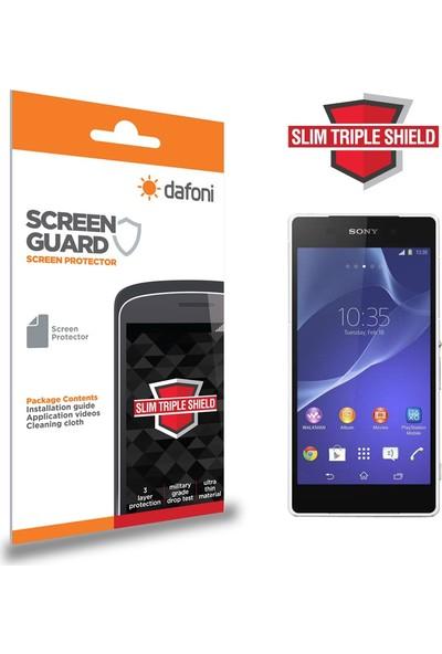 Dafoni Sony Xperia Z2 Slim Triple Shield Ekran Koruyucu