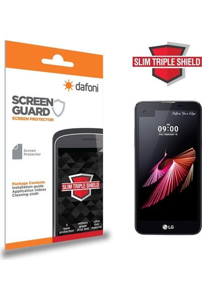Dafoni LG X screen Slim Triple Shield Ekran Koruyucu