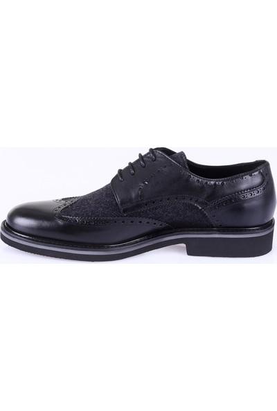 Kiğılı Eva Taban Kumaş Deri Ayakkabı 6Koaje42010