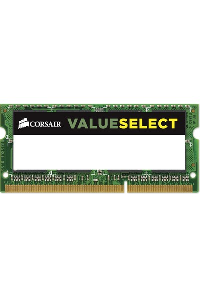 Corsair Value 4GB 1600MHz DDR3 Notebook Ram CMSO4GX3M1C1600C11