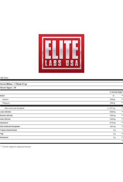 Elite Labs True Recovery BCAA Amino 390 gr