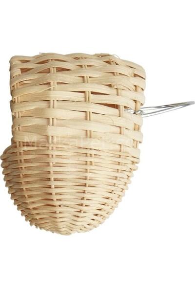 Eastland Kuş Yuvası, Örme Doğal Kuş Evi 12*10 Cm