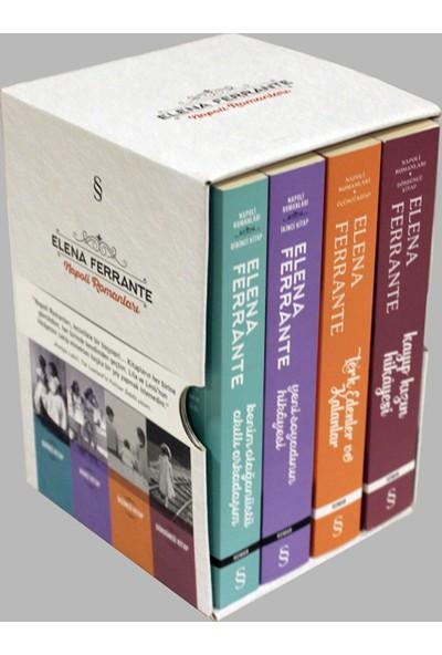 Elena Ferrante Napoli Romanları (4 Kitap Set) - Elena Ferrante