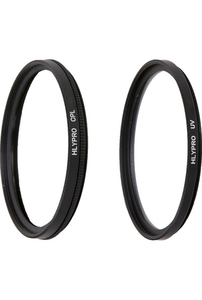 Canon 24mm f/1.4L Lens için HLYPRO UV Filtre + Polarize Filtre