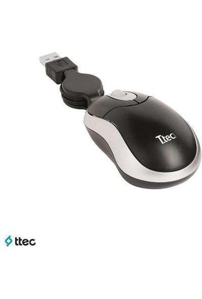 Ttec M004 Mini Usb Optik Makaralı Mouse