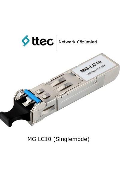 Ttec Switch Sfp-Mg-Lc10, 1000 Baselx Sfp Module, Single Mode Fiber, 10Km