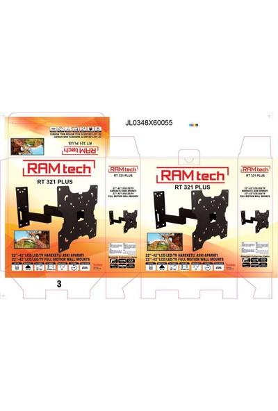 """Ramtech 22"""" ve 42'' Arası Harekeli Lcd Askı Aparatı"""