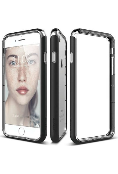 Elago iPhone 7 Kılıf Bumper Siyah