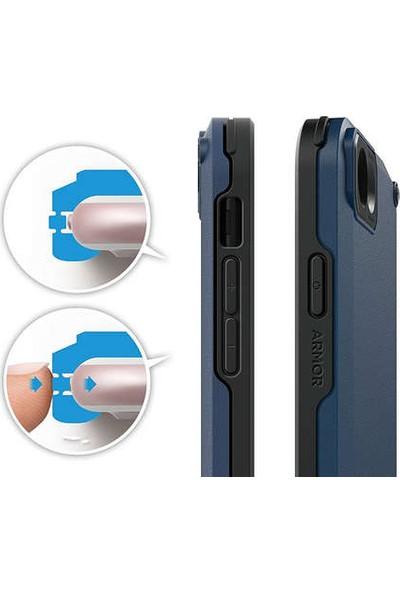 Elago iPhone 7 Kılıf Armor Anti Şok Darbe Korumalı Lacivert