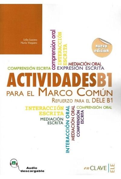 Actividades B1 Para El Marco Comun +Audio Descargable (Nueva Edicion)