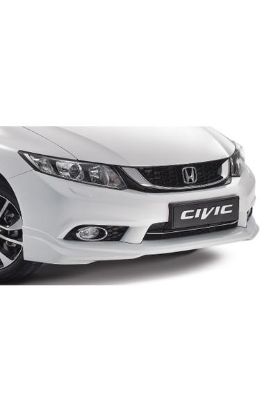 Civic Honda 2012- Sonrası Modulo Ön Tampon Eki - Boyasız