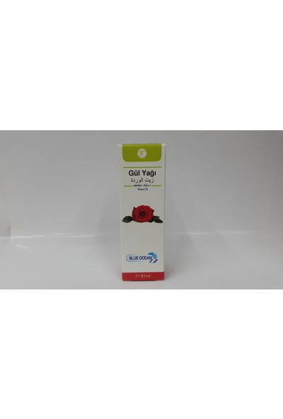 Blue Ocean Gül Yağı 20 Ml