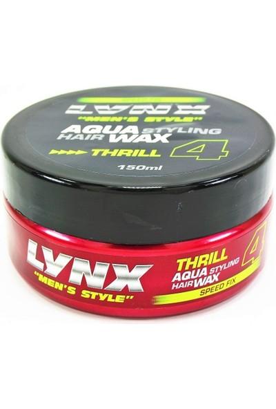 redist Lynx Aqua Thrıll 4 Wax-150Ml