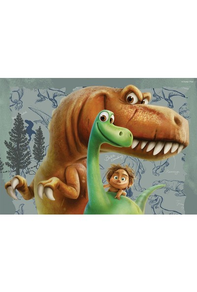 Ravensburger Puzzle : 2x24 Parça The Good Dinosaur Friendship