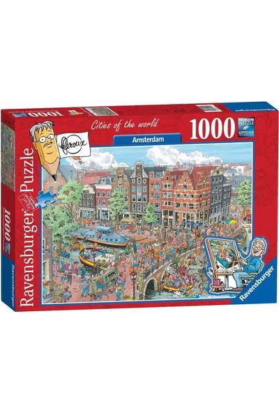 Ravensburger 1000P Puzzle Amsterdam Karikatür-191925