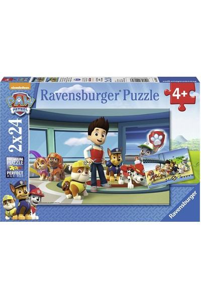 Ravensburger 2x24 Parça Paw Patrol Dedektifler