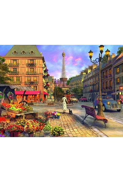 Ravensburger 1500P Puzzle Tarihi Paris-163090