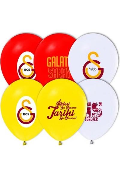Elitparti Galatasaray Baskılı Latex Balon
