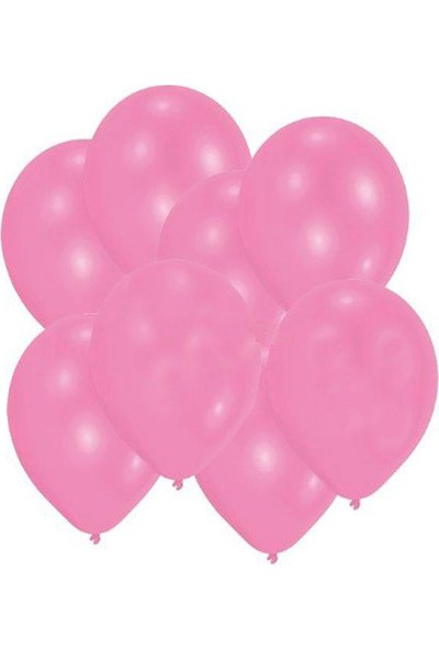 Elitparti Pembe Puanlı Latex Balon