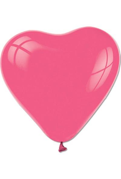 Elitparti Pembe Kalp Balon