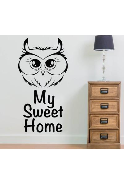My Sweet Home Duvar Sticker