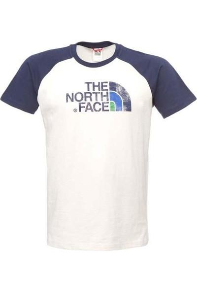 The North Face M S/S Premıum Dome Tee Cosmıc Blue Tişört