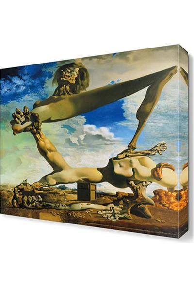 Dekor Sevgisi Salvador Dali Canvas Tablo 30x30 cm