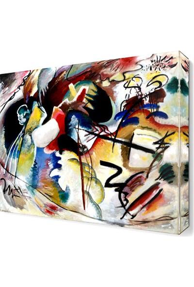 Dekor Sevgisi Wassily Kandinsky4 Canvas Tablo 30x30 cm