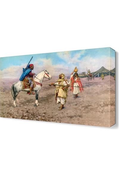 Dekor Sevgisi Giulio Rosati Canvas Tablo 45x30 cm