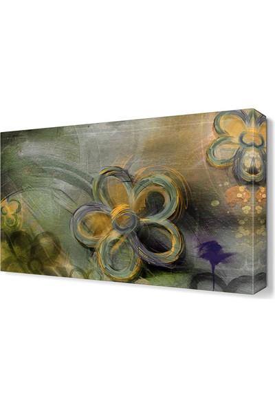 Dekor Sevgisi Yağlı Boya Çiçek Tablosu 45x30 cm