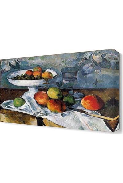 Dekor Sevgisi Meyve Tabağı Tablosu 105x70 cm