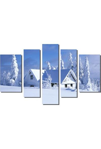 Dekor Sevgisi Kardan Ev Tablosu 84x135 cm